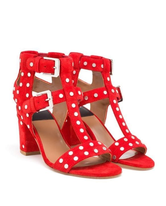 shoe-miracle-laurence-dacade-red-studded-sandals